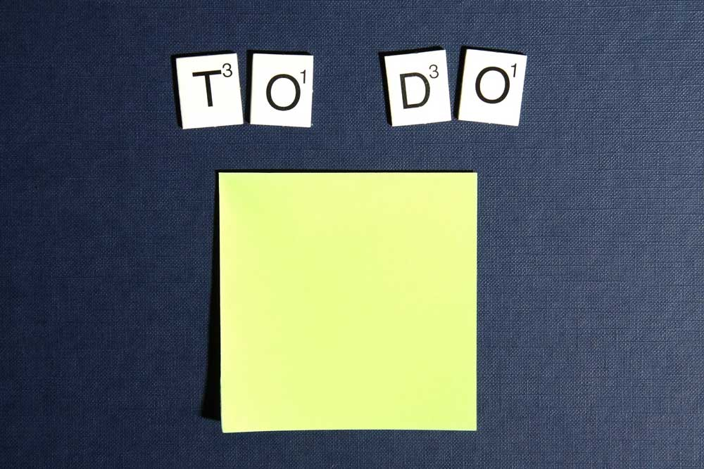 Time management and to do list