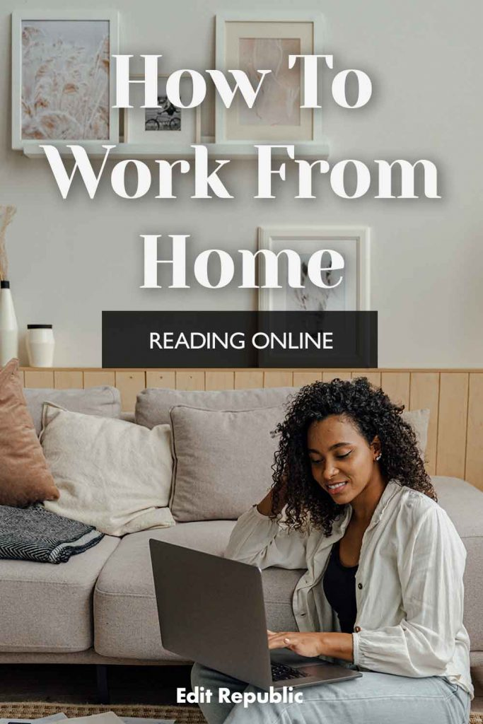 Work from home reading