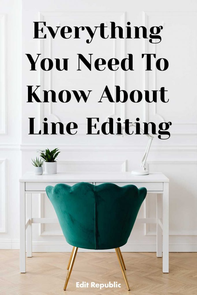 Everything about line editing