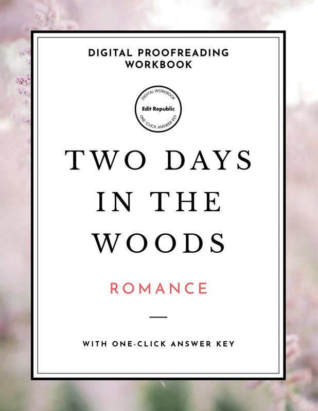Romance Proofreading Workbook